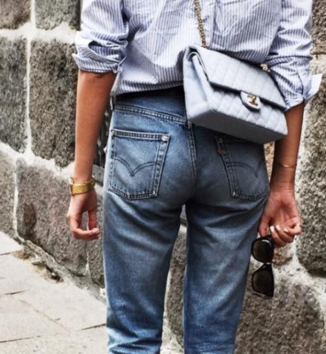 stripe-cotton-shirt-chanel-flap-bag-chanel-2.55-bag-street-style